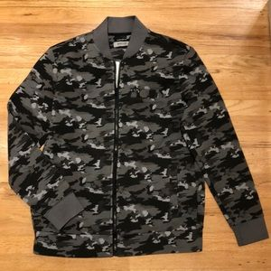 Kenneth Cole Reaction Men's Camo Bomber Jacket